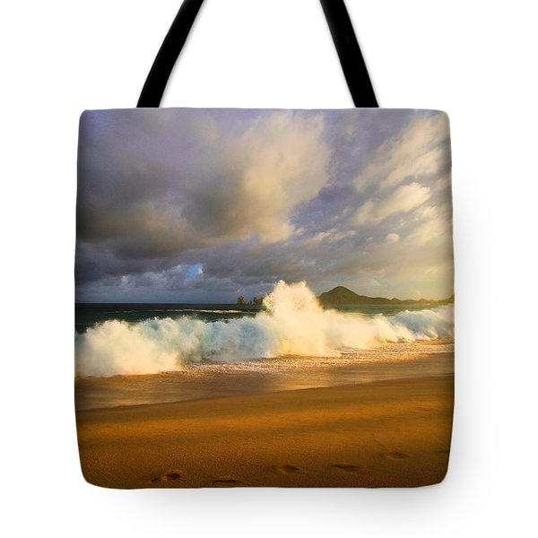 Tote Bag featuring the photograph Summer Storm by Eti Reid
