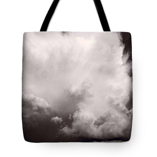 Summer Storm Tote Bag by Steve Gadomski