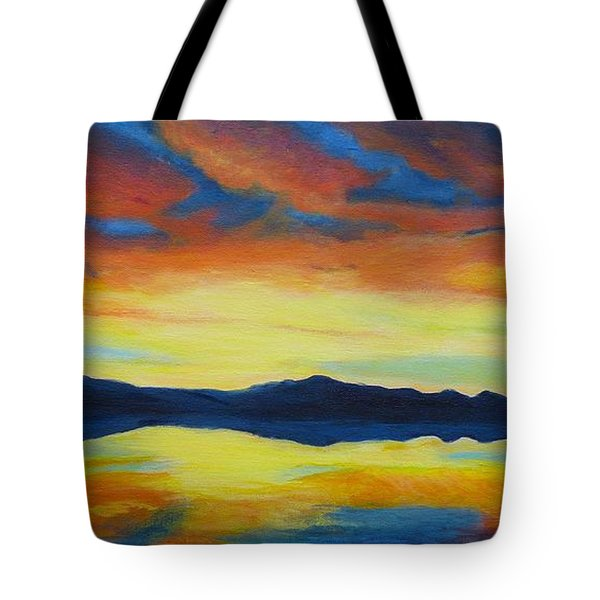 Summer Storms Tote Bag by Alicia Fowler