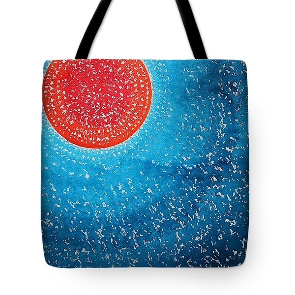 Summer Sun Original Painting Tote Bag