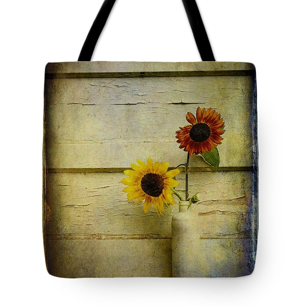 Summer Sunflowers Tote Bag by Sari Sauls