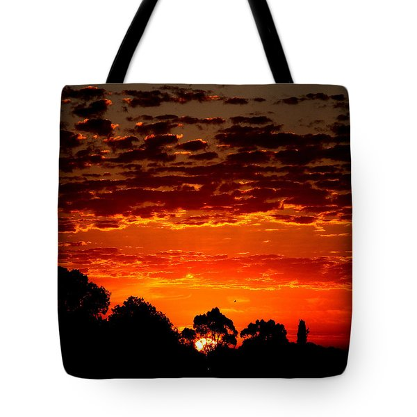 Summer Sunset Tote Bag by Mark Blauhoefer