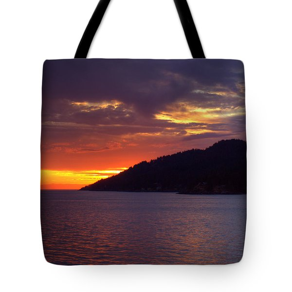 Summer Sunset Tote Bag by Randy Hall