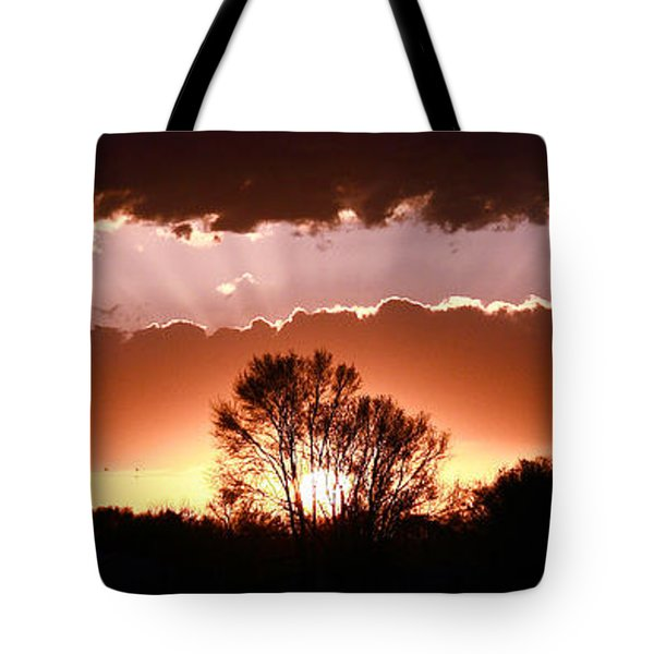 Summer Sunset Tote Bag by Steven Reed