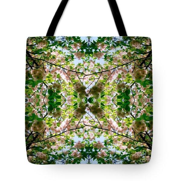 Summer Symmetry Tote Bag