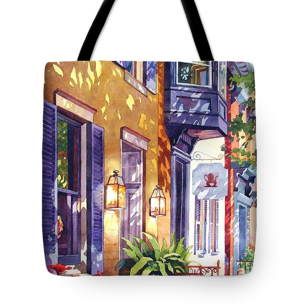Summer Tea Tote Bag