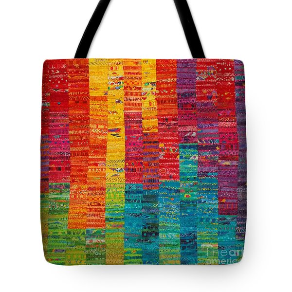 Summer Vibrations Tote Bag by Susan Rienzo