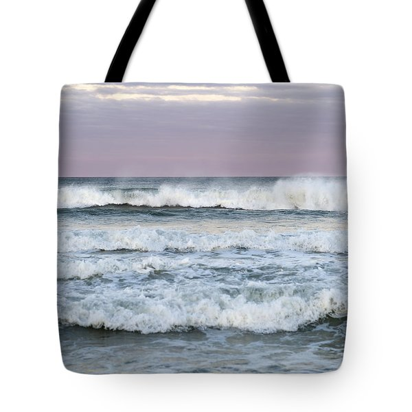 Summer Waves Seaside New Jersey Tote Bag
