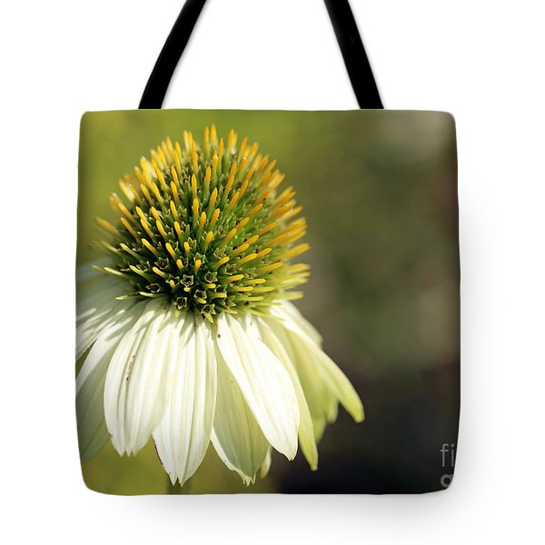 Summer White Tote Bag