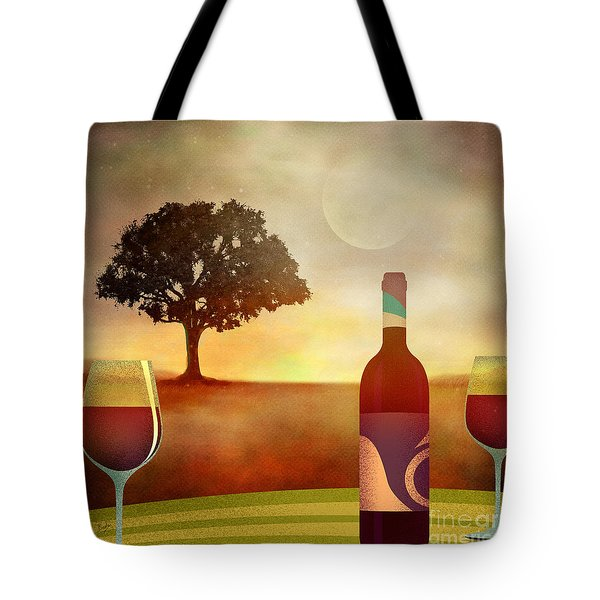 Summer Wine Tote Bag