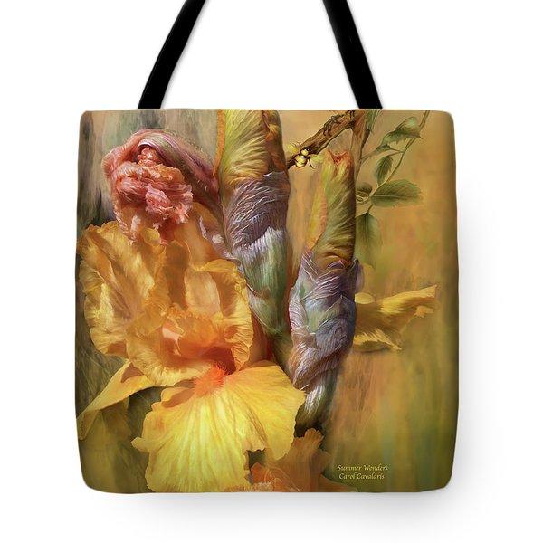 Summer Wonders Tote Bag by Carol Cavalaris