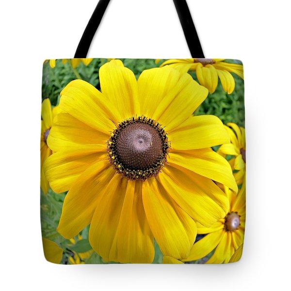 Summers Bloom Tote Bag by Susan Leggett