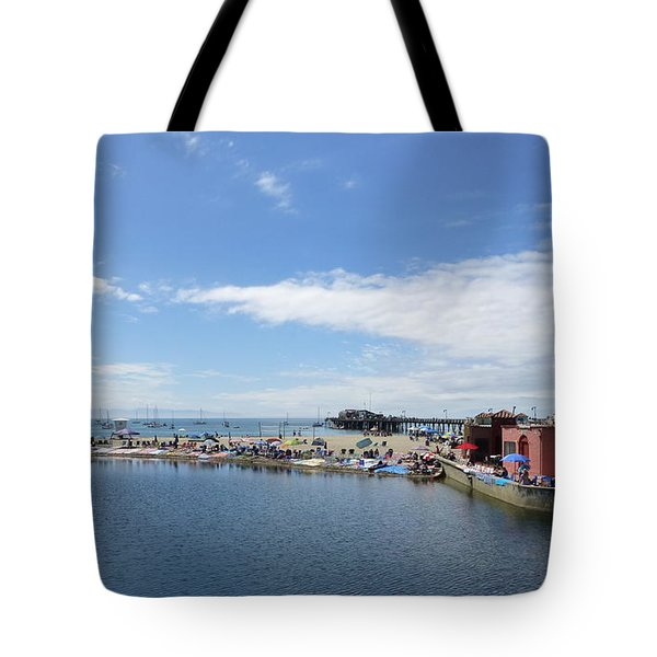 Summers End Capitola Beach Tote Bag by Amelia Racca