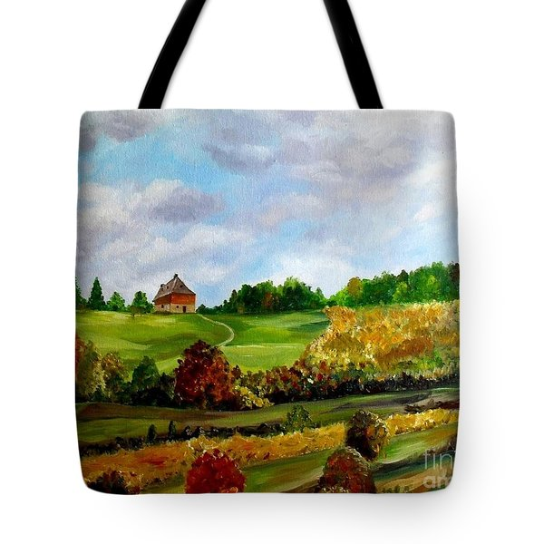 Summer's End Tote Bag by Julie Brugh Riffey