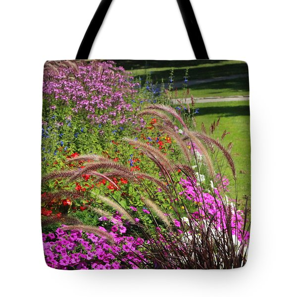 Summer's Garden Tote Bag
