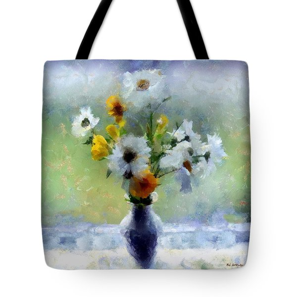 Summerstorm Still Life Tote Bag by RC deWinter