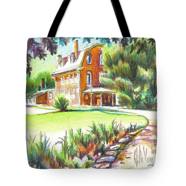 Summertime At Ursuline No C101 Tote Bag