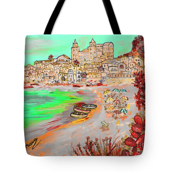 Summertime In Cefalu' Tote Bag