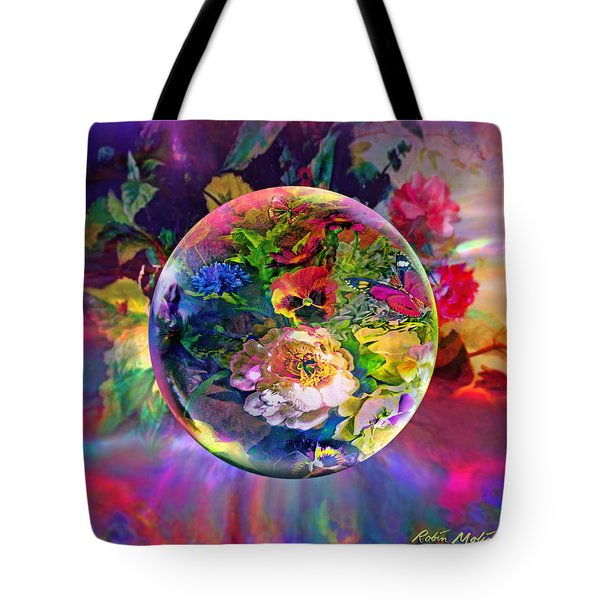Tote Bag featuring the painting Summertime Passing by Robin Moline