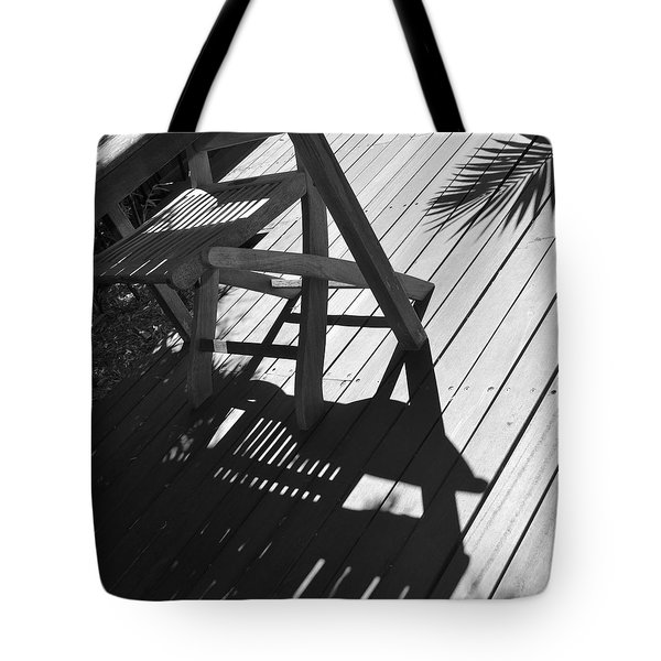 Summertime Shadows Tote Bag by Cheryl Miller