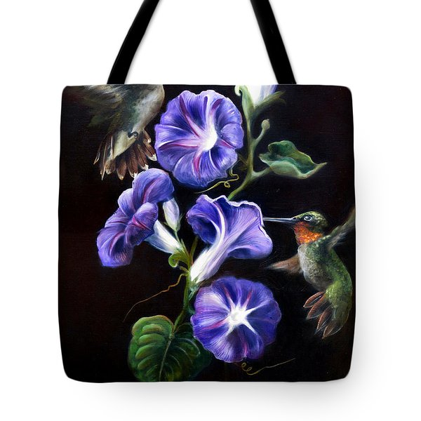 Tote Bag featuring the painting Sumptuous Delight by Phyllis Beiser