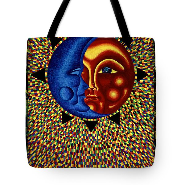 Sun And Moon II Tote Bag