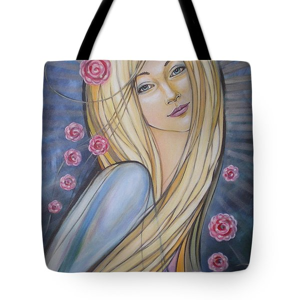 Sun And Roses 081008 Tote Bag by Selena Boron