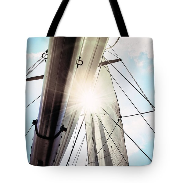 Sun And Sails Tote Bag