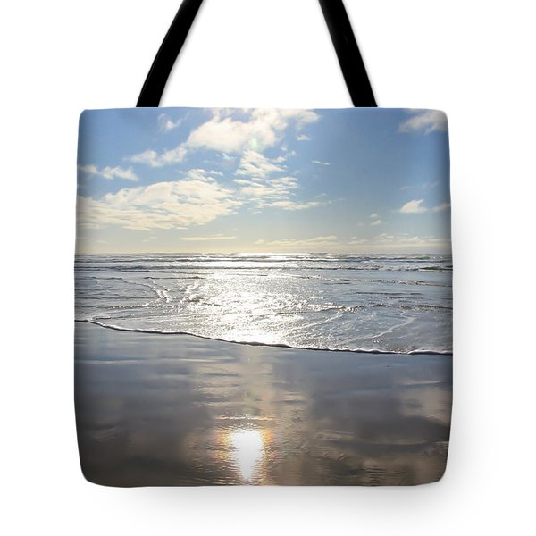 Sun And Sand Tote Bag