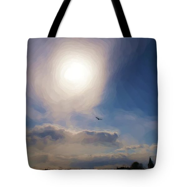 Sun And Skies Tote Bag
