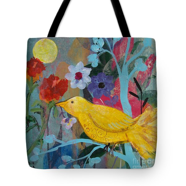Sun Bearer Tote Bag by Robin Maria Pedrero