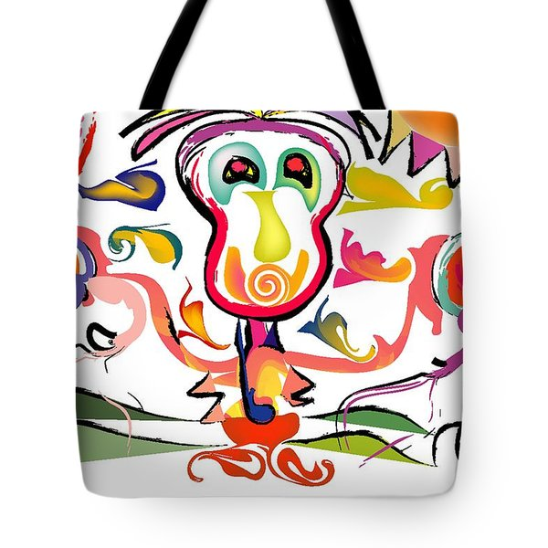 Sun Boxer Tote Bag by Andy Cordan