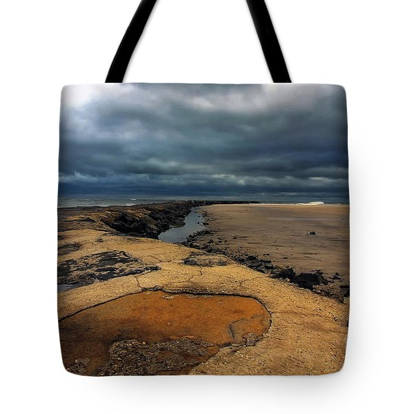Sun Breaking Through Tote Bag by Geoff Crego