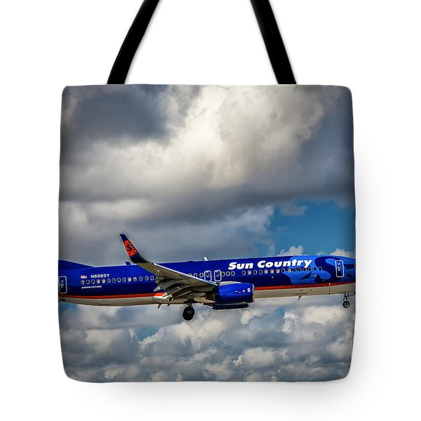 Sun Country Boeing 737 Ng Tote Bag