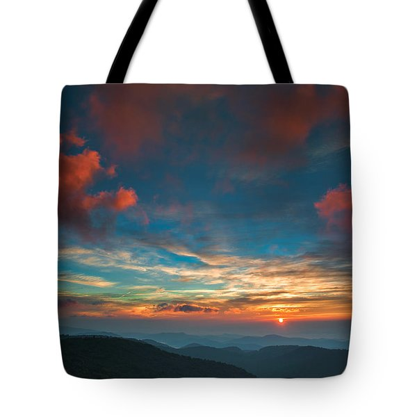 Sun Dance Tote Bag
