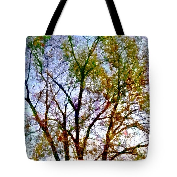 Sun Dappled Tote Bag