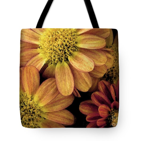 Tote Bag featuring the photograph Sun Fans by Jean OKeeffe Macro Abundance Art