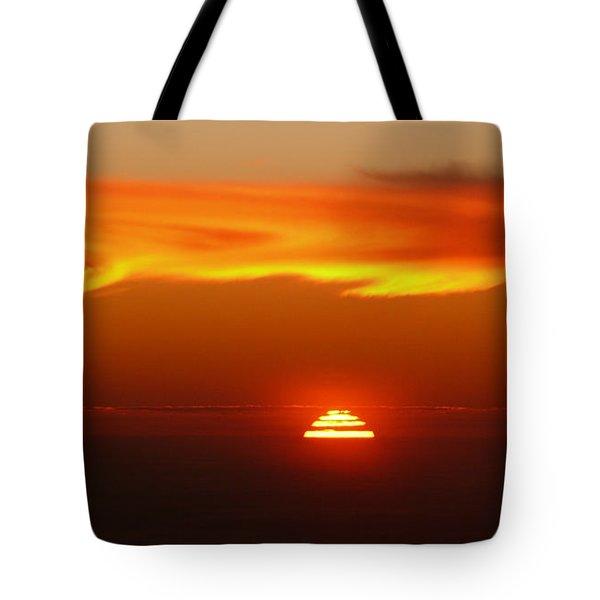 Sun Fire Tote Bag