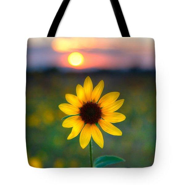 Sun Flower Iv Tote Bag