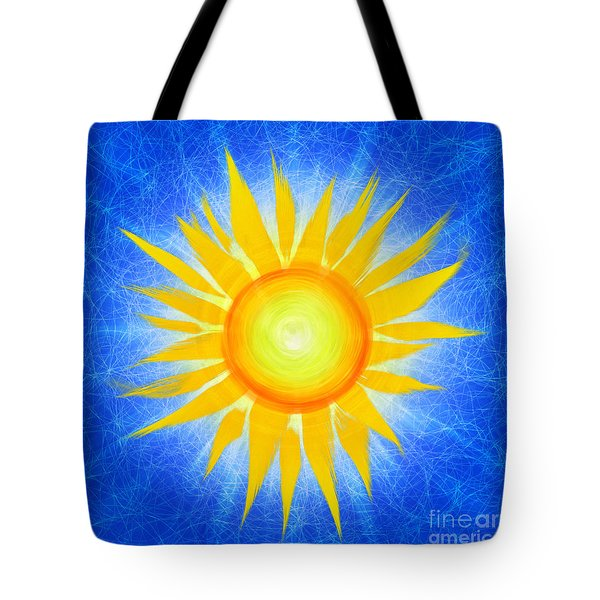 Sun Flower Tote Bag by Tim Gainey