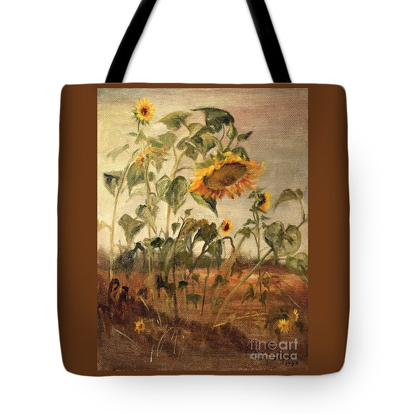 Sun Flowers Tote Bag