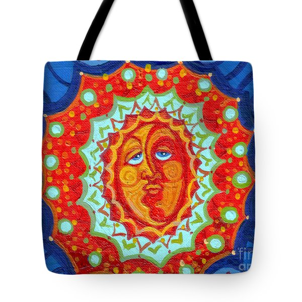 Sun God Tote Bag by Genevieve Esson