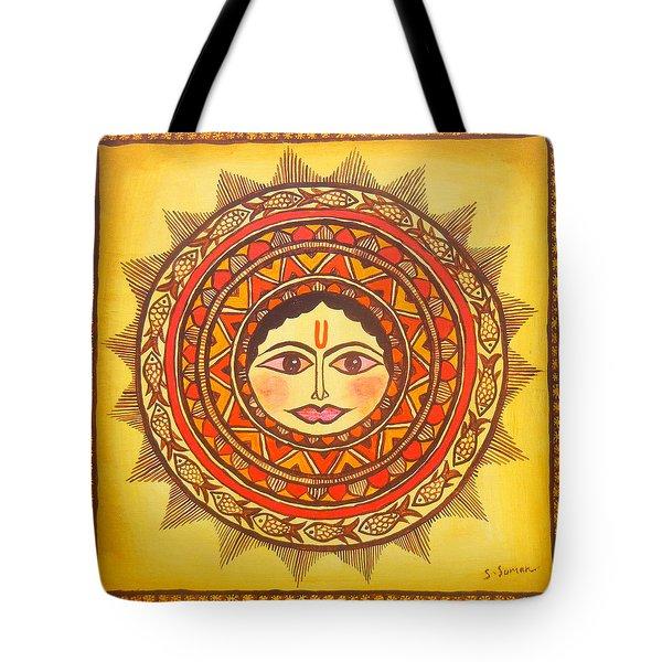 Sun God-source Of Energy Tote Bag