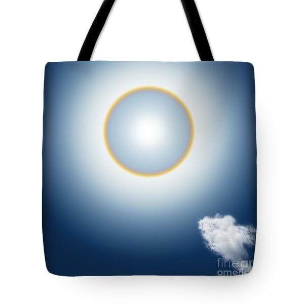 Sun Halo Tote Bag by Atiketta Sangasaeng