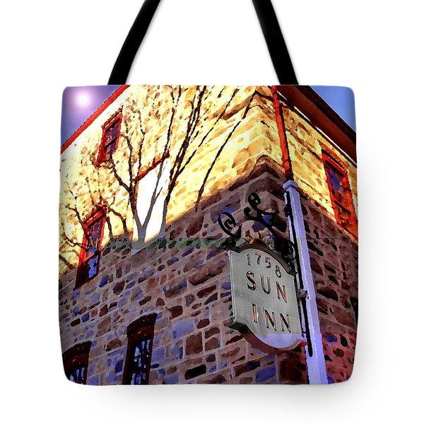 Sun Inn Bethlehem Pa Tote Bag