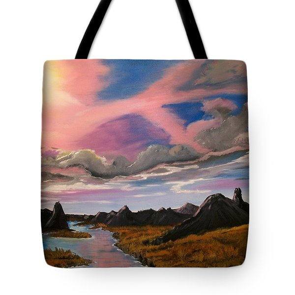 Sun Jet Tote Bag by Sharon Duguay