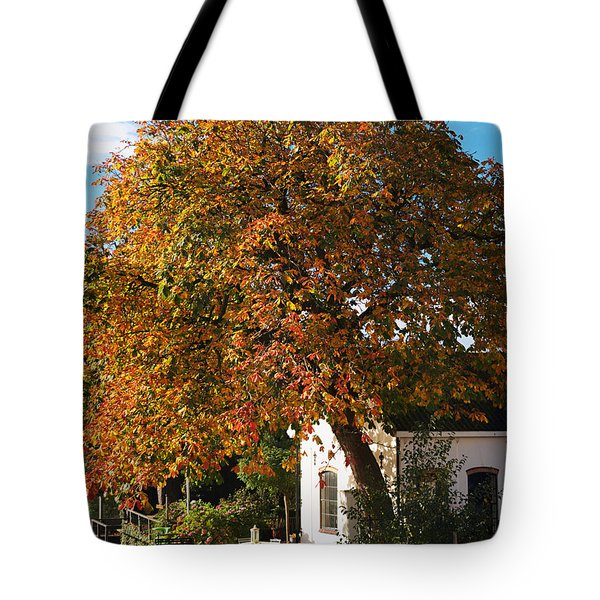 Sun Leaves Tote Bag