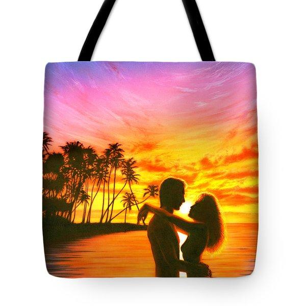 Sun Lovers Sun Worshippers Tote Bag