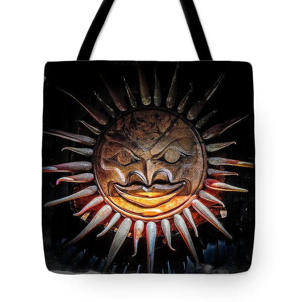Sun Mask Tote Bag