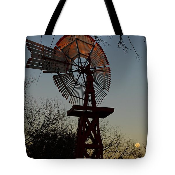 Sun Moon And Wind Tote Bag by Robert Frederick